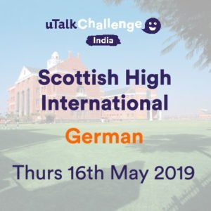 uTalk Challenge German Language at Scottish High May 2019