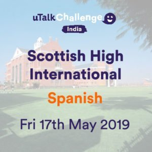 uTalk Challenge Spanish Language at Scottish High May 2019